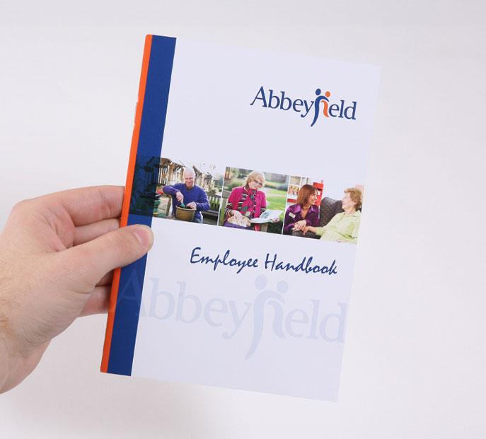 employee handbook cover design template selo l ink co